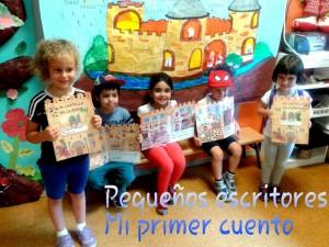 Los alumnos de 4 A escriben su primer cuento sobre los castillos.