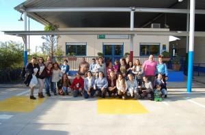 Las familias  con los buñueleros